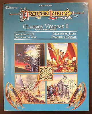 Dragonlance Classics II Modules - Excellent condition & Complete