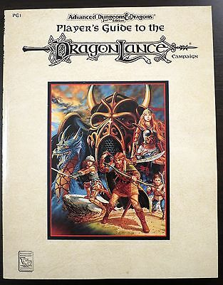 Dragonlance Player's Guide PG1 - NEW - AD&D
