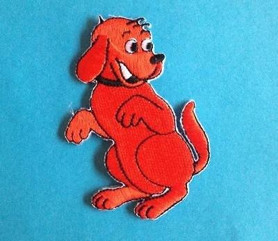 Clifford The Big Red Dog Embroidered Hat Jacket Hoodie Backpack Patch Crest