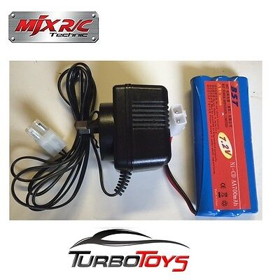 New - 7.2V Battery Pack + Aus Approved Charger Set For Mjx 1/10 Ferrari Rc Cars