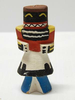Antique / Vintage Hopi Indian Highway Warrior Route 66 Kachina  - Early Example