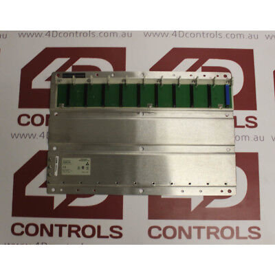 Modicon 140XBP01000 BACKPLANE 10 SLOT - Used