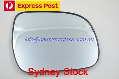 Right Driver Side Toyota Hilux 2005 - 2015 Mirror Glass With Base