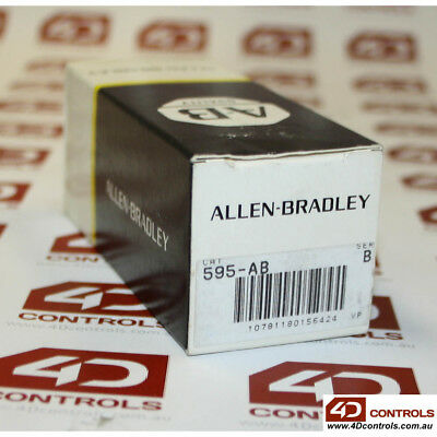 Allen Bradley 595-AB Auxiliary Contacts for Contactors Size 0-5, 1N.O. - 1N.C...