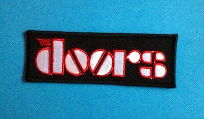 The Doors Rock Music Iron On Hat Jacket Backpack Hoodie Patch Crest
