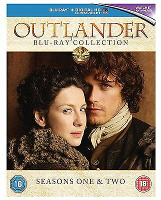 OUTLANDER the complete Season Series 1 + 2 Blu ray Box Set RB