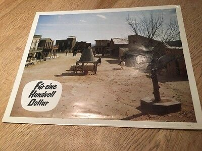 A Fistful Of Dollars Original Lobby Card Clint Eastwood