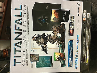 """New - Titanfall Collectors Edition - Xbox One - 19"""" Figurine, Artwork, Game"""