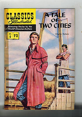 CLASSICS ILLUSTRATED COMIC No. 6 Tale of Two Cities  HRN 126