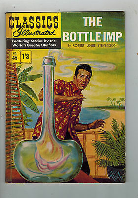 CLASSICS ILLUSTRATED COMIC No. 45 The Bottle Imp HRN 126
