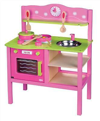 Lelin Wooden My First Kitchen Cookery Cooker Oven Childrens Pretend Play