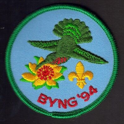"""Boy Scouts Canada Camp Byng  B.c. 1994 Badge 3"""" Embroidered Patch"""