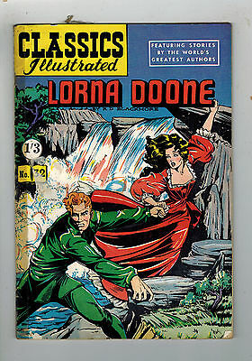 CLASSICS ILLUSTRATED COMIC No. 32 Lorna Doone HRN 125