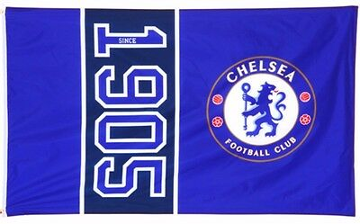 Chelsea Fc Large Football Team Since 1905 Mast Flag Fc Official Club Gift Cfc