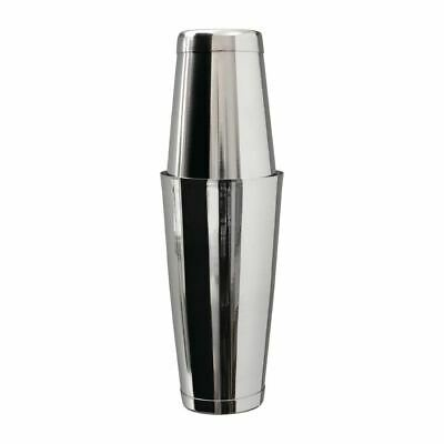 Beaumont Mezclar Tin on Tin Boston Cocktail Shaker Stainless Steel