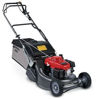 "Honda HRH 536 QX 4-stroke 21"" Rear Roller Rotary Lawnmower"