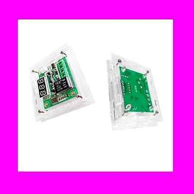 Clear Acrylic Case Shell Box Kit for W1209 Digital Temperature Control Module