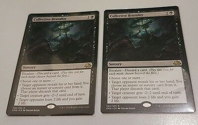 COLLECTIVE BRUTALITY - Eldritch Moon - MTG Magic the Gathering - M/NM