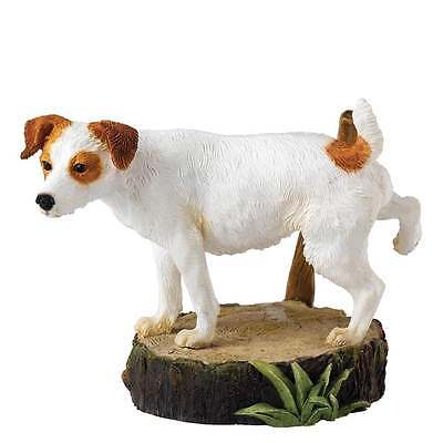 Border Fine Arts Marking His Territory Jack Russell Figurine New Boxed A25064