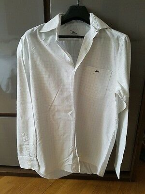 Chemise Lacoste homme taille 39/40