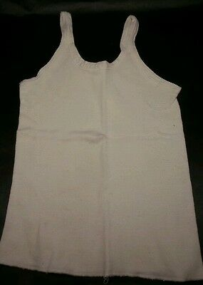 Vintage Carter's Boy's Undershirt Tank Top Style Wife Beater Size 8 1950's