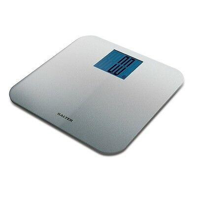 Salter Max Electronic Digital Bathroom Scales (Silver) Brand new