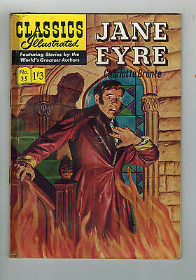 CLASSICS ILLUSTRATED COMIC No. 35 Jane Eyre HRN 126