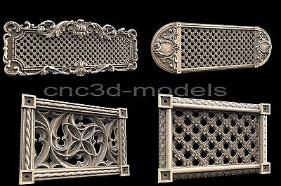 3D STL Models for CNC Router Engraver Carving Artcam Aspire Furniture Decor 147