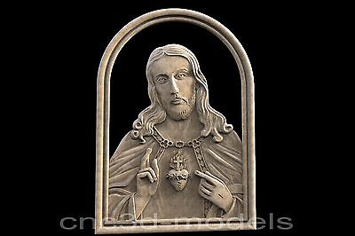 3D STL Models for CNC Router Engraver Carving Artcam Aspire Jesus Christ 172