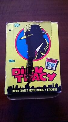 Madonna Set of Super Glossy Movie Cards and Stickers Dick Tracy era Rebel Heart