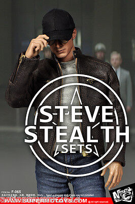 1/6 Scale SUPERMCTOYS F-065 Steve Stealth Sets IN STOCK