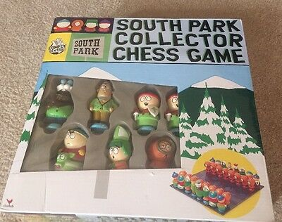 Rare.south Park Chess Set Toy Doll Figures Nib Never Opened Comedy Partners