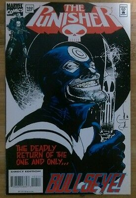 The Punisher #102 (May 1995, Marvel) low print run high grade