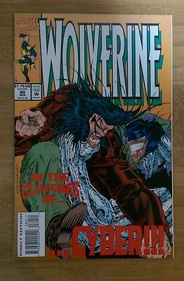 Wolverine #80 first appearance X-23 (test tube) high grade