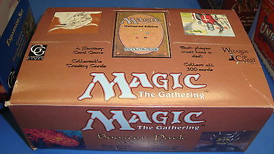 Magic the Gathering Mtg Empty Unlimited Booster box!