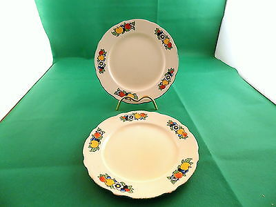 Vintage Royal Cauldon 2 x Side Plates