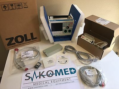 ZOLL M Series Biphasic 3lead Pacing Spo2 AED -FR DEMO Units