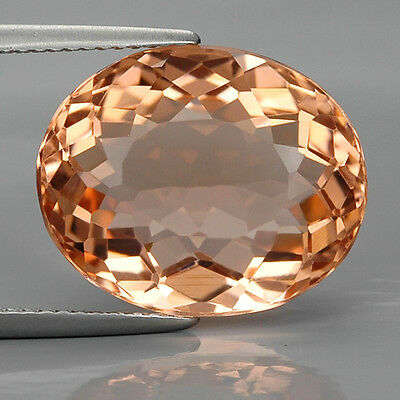 Top 8.70 Ct. Charming Oval Peach Pink Morganite Z1243