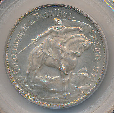 Portugal Ourique 10 Escudos 1928 - PCGS MS63