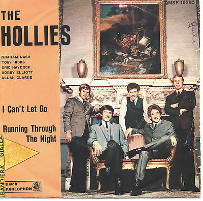 SOLO COPERTINA - COVER ONLY - THE HOLLIES - I can't let go - ITA VG