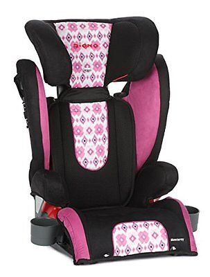 Diono Monterey High Back Booster with Adjustable Headrest, Bloom...NEW