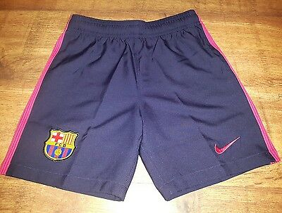 Nike Barcelona Away Shorts 2016/17 Junior Size 8-10yrs (128-137cm)