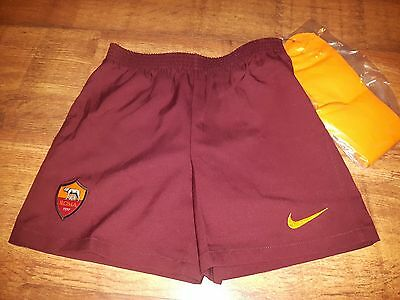 Nike Roma Home 2016/17 Shorts Junior Size 6-7yrs