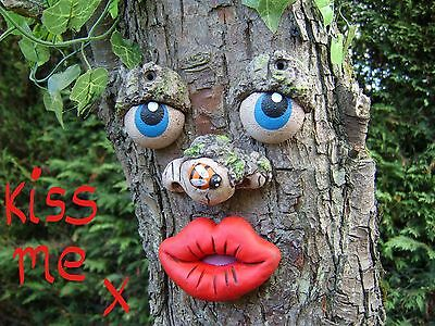 TREE FACE. Garden decoration, sculpture, statue tree gifts ornament