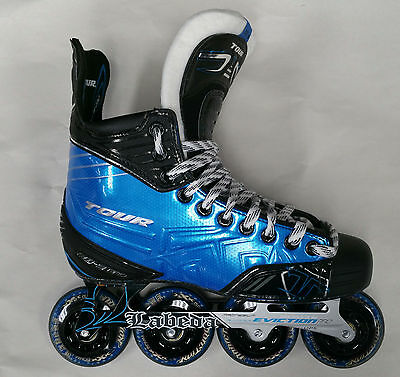 Tour Fish Bone 9 Pro Senior Roller Hockey Skate size 9.5 D New in Box