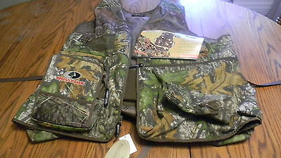 2XL Mossy Oak Turkey Thugs Tactical Run-n-Gun Turkey Vest/Seat Cush/BlazeFlag
