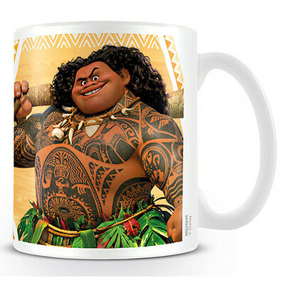 Official Licensed Product Disney Moana Ceramic Mug Maui Cup Coffee Tea Gift New