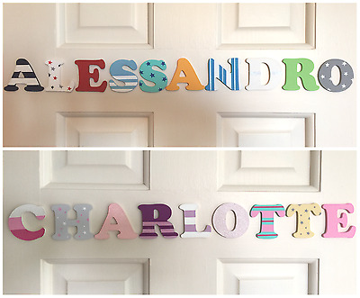 Personalised Wooden Letters For Door/Wall
