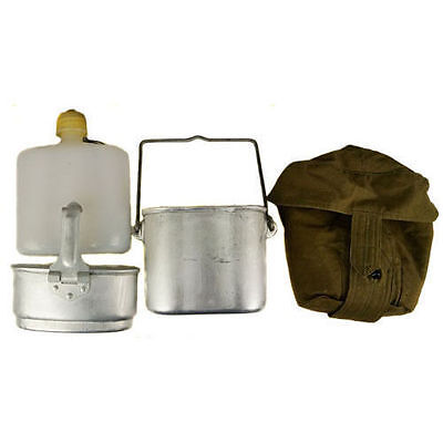 Soviet Russian Army Military VDV Airborne Combined Flask Mess Kit
