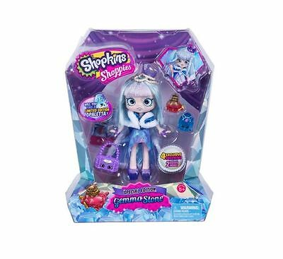 Shopkins Shoppies Special Edition Gemma Stone Doll 4 Exclusive Shopkins New!